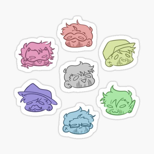 Septic Power Egos Sticker