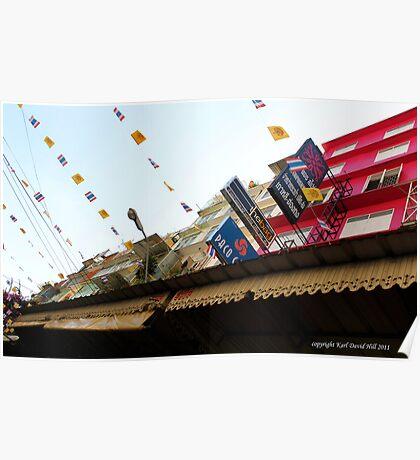 china town bangkok Poster