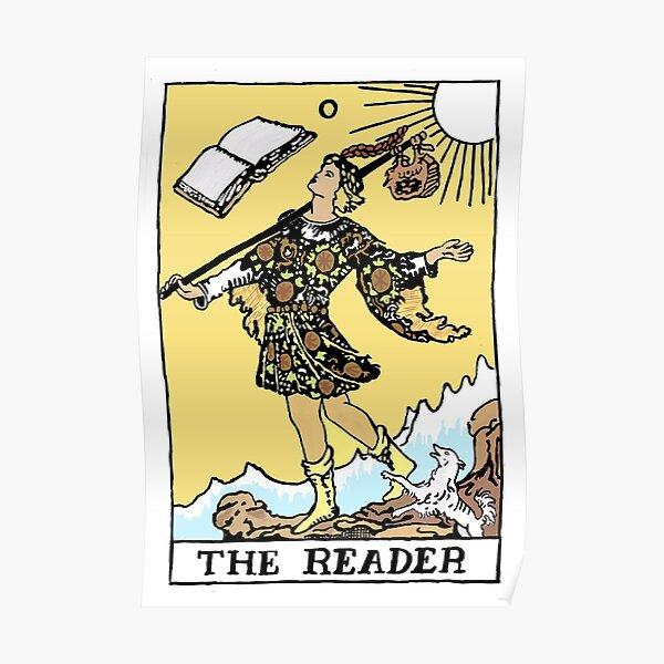 Bookshop Tarot--The Reader Poster