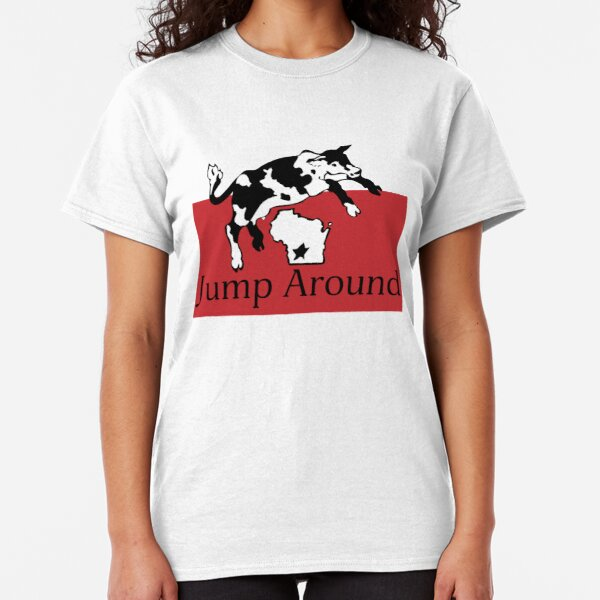 Spotted Cow Jump Around Classic T-Shirt