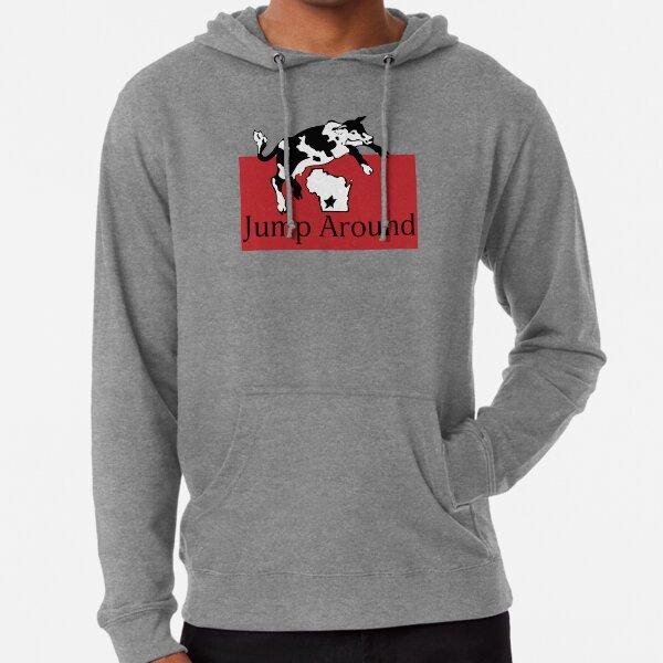 Spotted Cow Jump Around Lightweight Hoodie