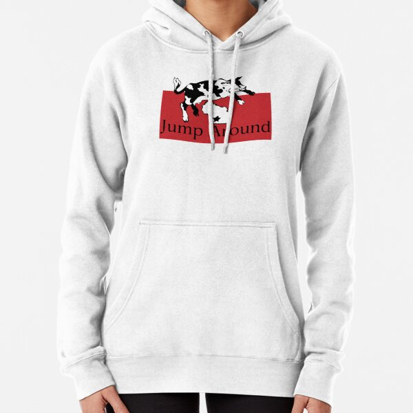Spotted Cow Jump Around Pullover Hoodie