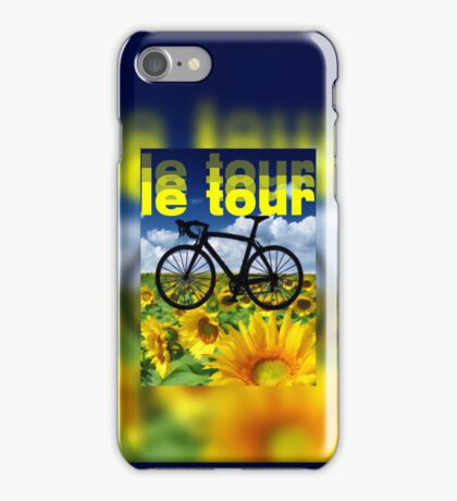 le tour iPhone Case/Skin