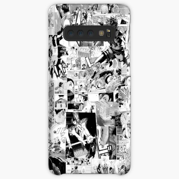 Haikyuu! Manga Collage Samsung Galaxy Snap Case