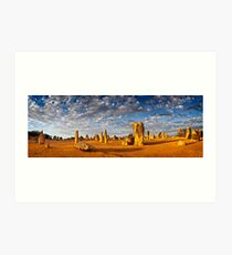 The Pinnacles (Panorama) Art Print