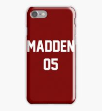 Mickey Madden Varsity 05 iPhone Case/Skin