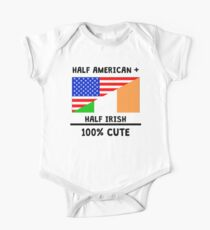 Half Irish 100% Cute One Piece - Short Sleeve