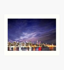 Manhattan Skyline: NYC Art Print