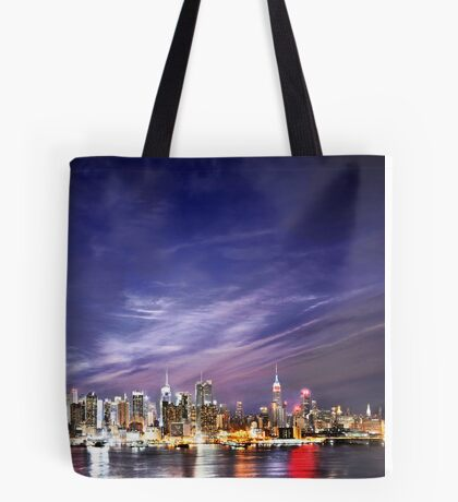 Manhattan Skyline: NYC Tote Bag