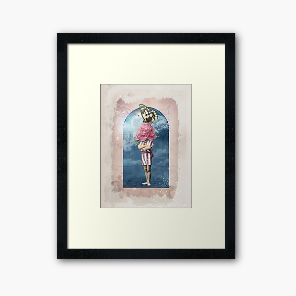 Flower Head No.1 Framed Art Print