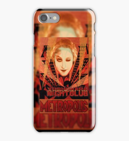 METROPOLIS - Yoshiwara Nightclub iPhone Case/Skin