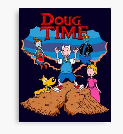 Doug Time. Canvas Print