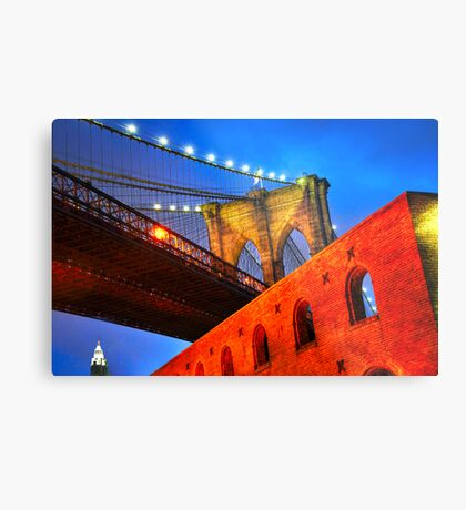 Brooklyn Bridge: NYC Metal Print