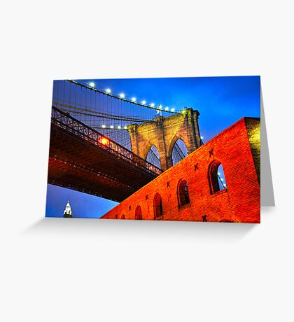 Brooklyn Bridge: NYC Greeting Card