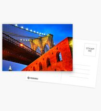 Brooklyn Bridge: NYC Postcards