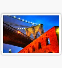 Brooklyn Bridge: NYC Sticker
