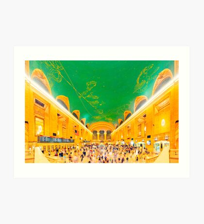Grand Central Terminal: NYC Art Print