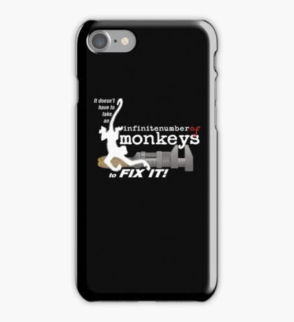 monkeywrench fix iPhone Case/Skin