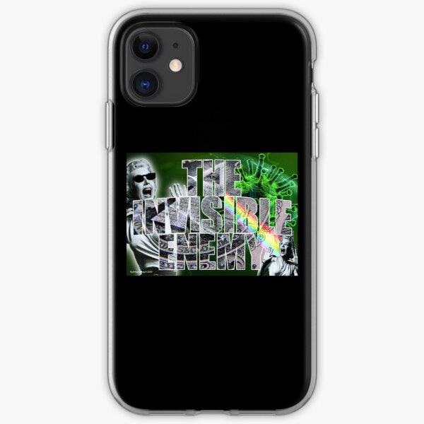 The Invisible Enemy iPhone Soft Case
