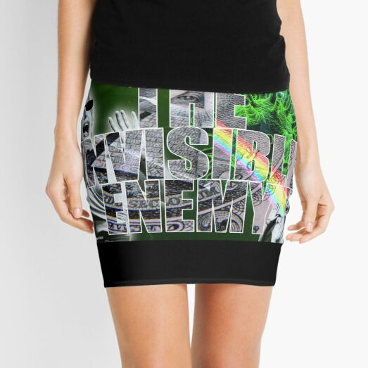 The Invisible Enemy Mini Skirt