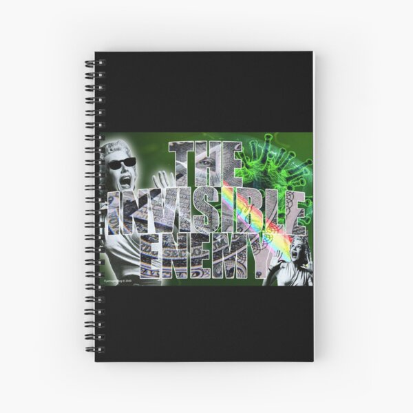 The Invisible Enemy Spiral Notebook
