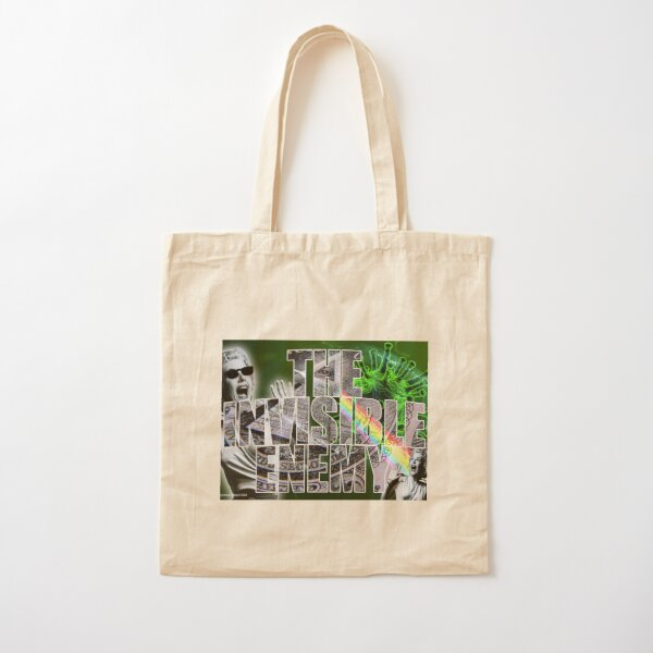The Invisible Enemy Cotton Tote Bag