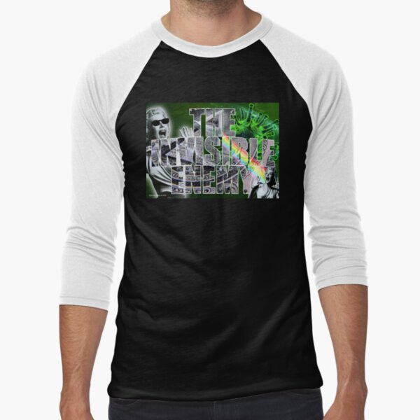 The Invisible Enemy Baseball ¾ Sleeve T-Shirt