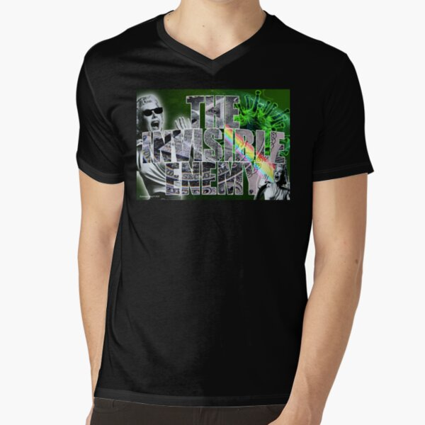 The Invisible Enemy V-Neck T-Shirt