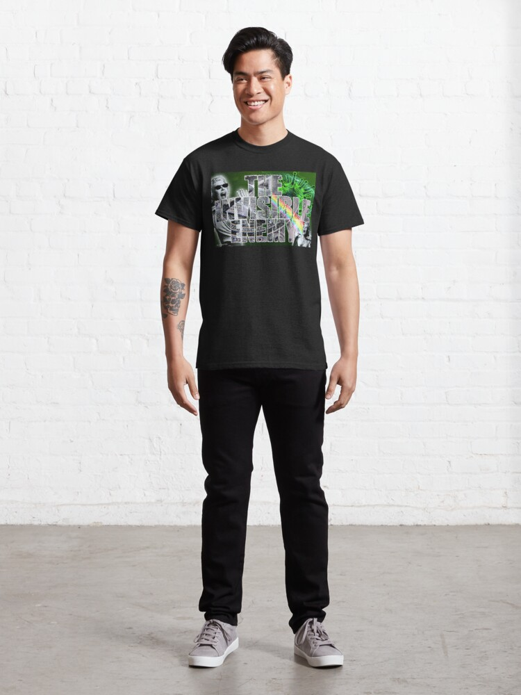 Alternate view of The Invisible Enemy Classic T-Shirt