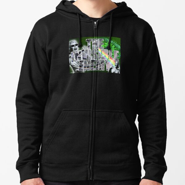 The Invisible Enemy Zipped Hoodie
