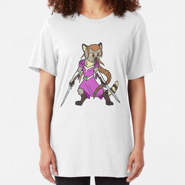Warrior Princess Slim Fit T-Shirt