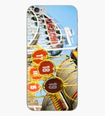 Coney Island Astroland and Cyclone: Brooklyn, NYC iPhone Case
