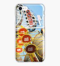Coney Island Astroland and Cyclone: Brooklyn, NYC iPhone Case/Skin