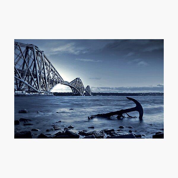 The Forth Rail Bridge Scotland Photographic Print