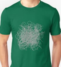 Black and white tangled wires T-Shirt