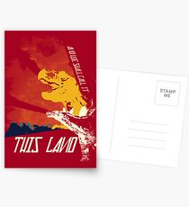 This Land (Before It All Went Wrong) Postcards