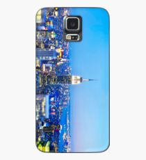 Empire State Building at Night: NYC Case/Skin for Samsung Galaxy