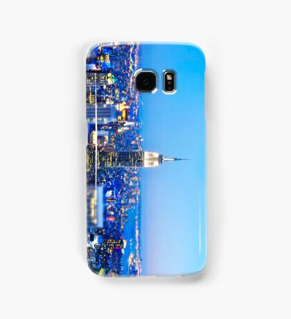 Empire State Building at Night: NYC Samsung Galaxy Case/Skin