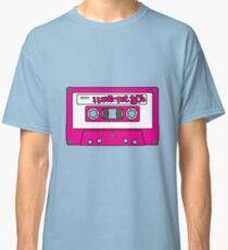 I love the 80's - pink tape Classic T-Shirt