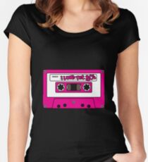 I love the 80's - pink tape Women's Fitted Scoop T-Shirt