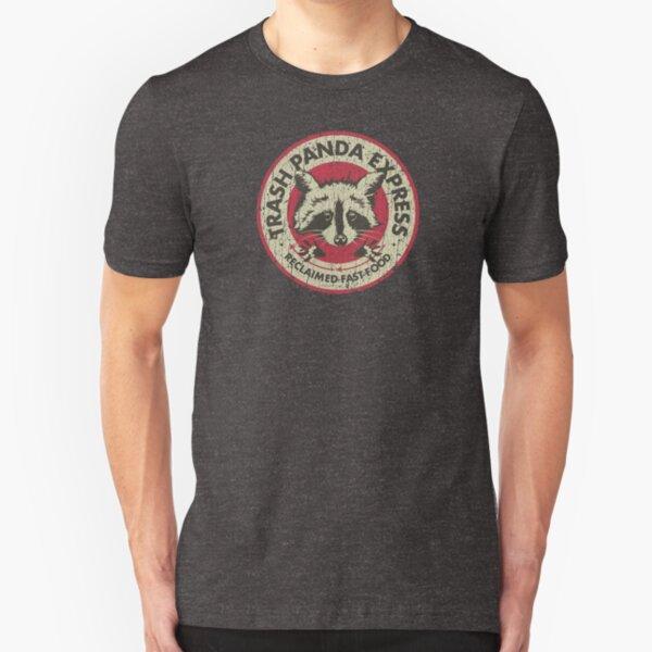 Trash Panda Express Slim Fit T-Shirt