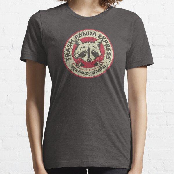 Trash Panda Express est l'endroit où aller pour la restauration rapide récupérée et ce t-shirt de style vintage bien porté donne l'impression que vous avez voyagé dans le futur et vice-versa avec toute son usure réaliste. Que vous soyez fan du genre cybe T-shirt essentiel