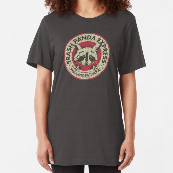 Trash Panda Express Slim Fit T-Shirt