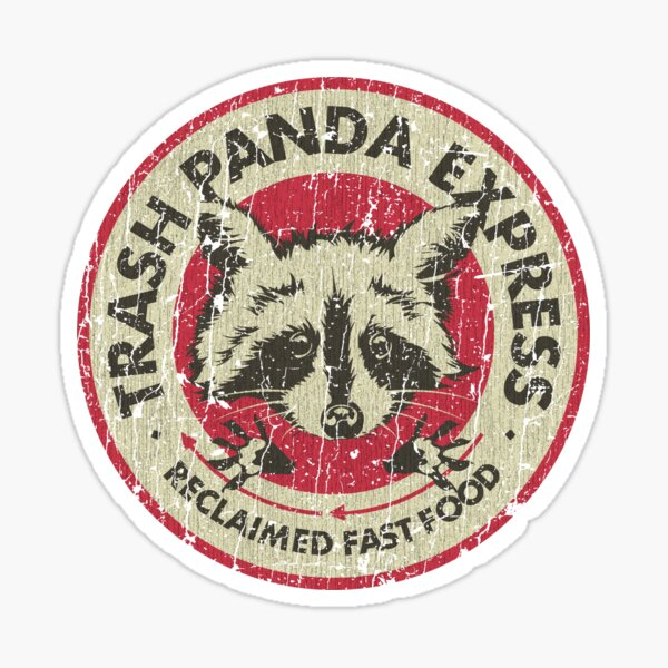 Trash Panda Express Sticker