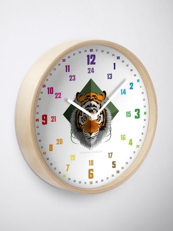 Quot Echte Lernuhren De Easyread Children S Clock Children S