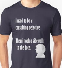 Sherlock,sidewalk to the face T-Shirt