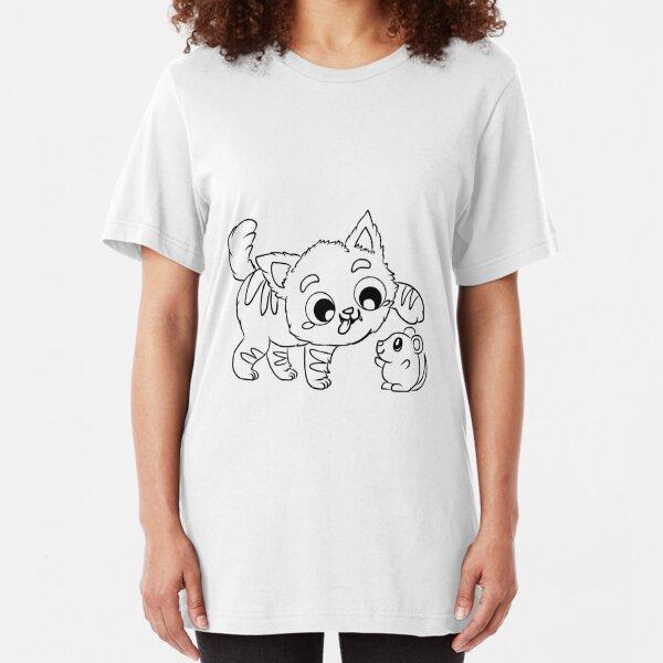 THIS IS MY HAPPY FACE DAMEN T-SHIRT Grumpy Katze Gesicht Cat Smile Fun Katzen