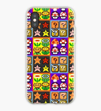 Mario Power-Up Evolution iPhone Case