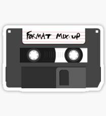 Format Mix-Up Sticker