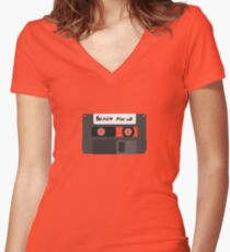 Format Mix-Up Women's Fitted V-Neck T-Shirt
